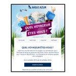 Tirage au Sort sur Facebook Aigle Azur sac Aigle Azur vintage à gagner 2