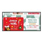Tirage auSort sur Facebook Orchestra Carte cadeau King Jouet à gagner ! 2