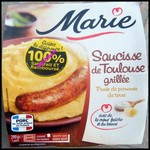 Offre de Remboursement (ODR) Marie : Saucisse de Toulouse Grillée Satisfait ou 100% Remboursé - anti-crise.fr