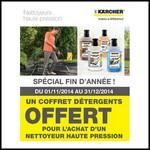 Bon Plan Kärcher : Un Coffret de 4 Détergents pour l'achat d'un Nettoyeur Haute Pression Eco!ogic - anti-crise.fr