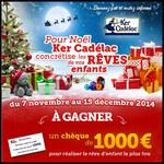 Tirage au Sort Ker Cadelac sur Facebook : 1 Chèque de 1 000 € à Gagner - anti-crise.fr