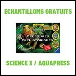 Echantillon Science X / Aquapress : Triops et Dinosaures - anti-crise.fr