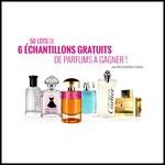 Tirage au Sort Mes Echantillons Gratuits : Lot de 6 Echantillons de Parfums à Gagner - anti-crise.fr