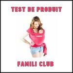 Test de Produit Famili Club : Echarpe de portage Basic Je Porte Mon Bébé - JPMBB - anti-crise.fr