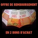 Offre de Remboursement (ODR) Saint James : Mojito à la Mangue 100 % Remboursé en 2 Bons d'Achat - anti-crise.fr