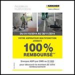 Offre de Remboursement (ODR) Kärcher : Aspirateur Multifonction MV jusqu'à 100% Remboursé - anti-crise.fr