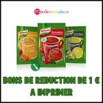 Bon Plan Ma Vie En Couleur : Bons de Réduction de 1 € Soupissime Instant de Knorr à Imprimer - anti-crise.fr