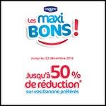 Bons de Réduction : Les maxi Bons Danone - anti-crise.fr