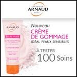 Test de Produit Beauté Addict : Crème de Gommage Rituel Visage Institut Arnaud - anti-crise.fr