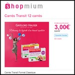 Offre de Remboursement (ODR) Shopmium : Carrés Transit Format Classique Gayelord Hauser à 3 € - anti-crise.fr