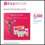 Offre de Remboursement (ODR) Shopmium : Carrés Transit Maxi Format Gayelord Hauser à 5 € - anti-crise.fr