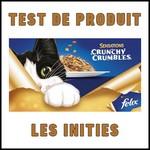 Test de produit Les Initiés : Felix® Sensations Crunchy Crumbles - anti-crise.fr