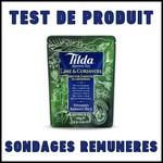 Test de Produit Sondages Rémunérés : Riz Tilda Micro Ondes - anti-crise.fr