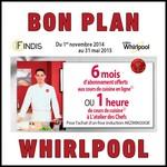 Bon Plan Whirlpool : 6 mois d'abonnement offerts aux cours de cuisine en ligne OU 1 heure de cours de cuisine à L'atelier des Chefs - anti-crise.fr