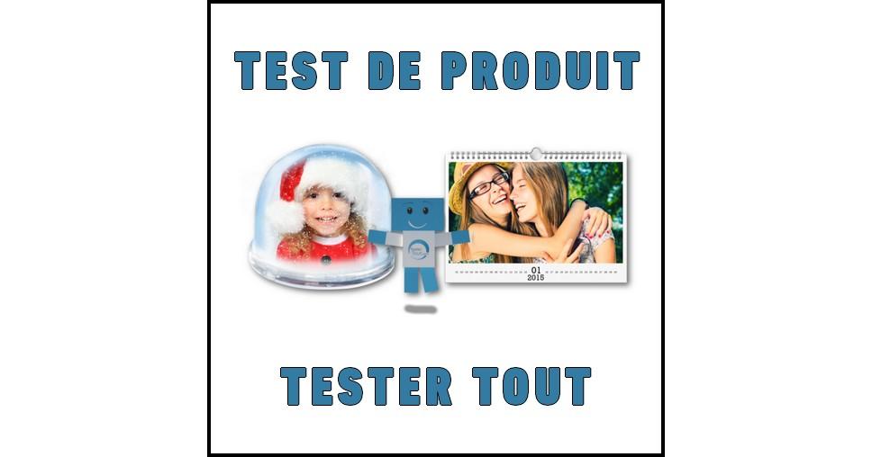 Test de Produit Tester Tout : Boule à neige ou calendrier personnalisé avec PHOTOCITE.fr - anti-crise.fr