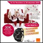Offre de Remboursement (ODR) LG : 30 € sur une Montre de la gamme LG G WATCH R - anti-crise.fr