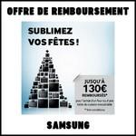 Offre de Remboursement (ODR) Samsung : Jusqu'à 130€ pour l'achat d'un four ou d'une table de cuisson encastrable - anti-crise.fr