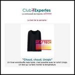 Test de Produit Au Féminin : T-shirt HEATTECH manches longues de UNIQLO - anti-crise.fr