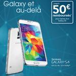 Offre de Remboursement (ODR) 50€ sur Smartphone Samsung Galaxy S5 et Note 4