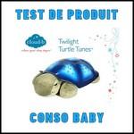 Test de Produit Conso Baby : Tranquil Turtle Bluetooth Cloud B - anti-crise.fr