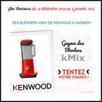 Instants Gagnants Confidentielles : Blender kMix de Kenwood à Gagner - anti-crise.fr