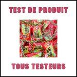 Test de Produit Tous Testeurs : Têtes Brûlées goût fraise Verquin - anti-crise.fr
