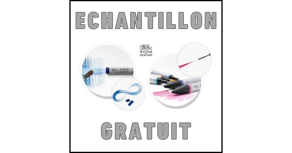 Echantillon Gratuit Winsor & Newton sur Facebook : Bâtonnet ou Marqueur d'Aquarelle - anti-crise.fr