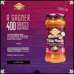 Test de Produit Patak's sur Facebook : Sauce Tikka Masala - anti-crise.fr