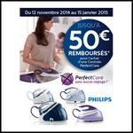Offre de Remboursement (ODR) Philips : Jusqu'à 50 € sur Centrale Vapeur PerfectCare - anti-crise.fr
