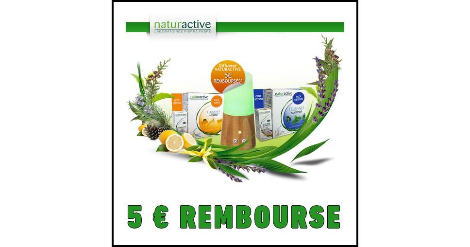 Offre de Remboursement (ODR) Naturactive : 5 € sur Pack Tonus ou Détente - anti-crise.fr