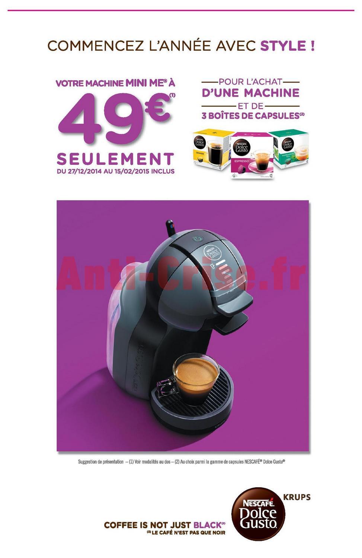 offre de remboursement odr votre machine caf nescaf mini me 49. Black Bedroom Furniture Sets. Home Design Ideas