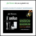 Instants Gagnants Confidentielles : Mixeur plongeant Multiquick de Braun à Gagner - anti-crise.fr