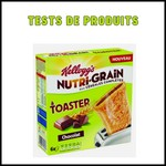 Tests de Produits : Nutri-Grain à toaster de Kellogg's - anti-crise.fr