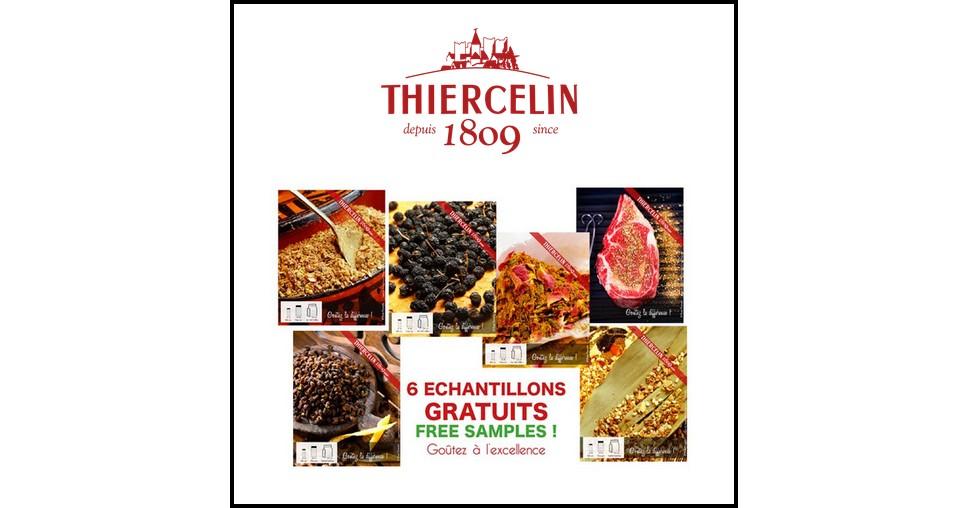 Echantillon Gratuit Thiercelin : 6 Echantillons d'Epices pour cuisiner - anti-crise.fr