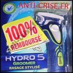 Offre de Remboursement (ODR) Wilkinson : Hydro 5 Groomer ou Hydro 5 Power Select 100% Remboursé - anti-crise.fr