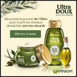 Test de Produit Beauté Test : Duo Ultra Doux Olive Mythique Garnier - anti-crise.fr