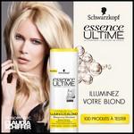 Test de Produit Beauté Test : Shampooing Illuminant Citrus+ oil - Essence Ultîme Luminous Blond Schwarzkopf - anti-crise.fr