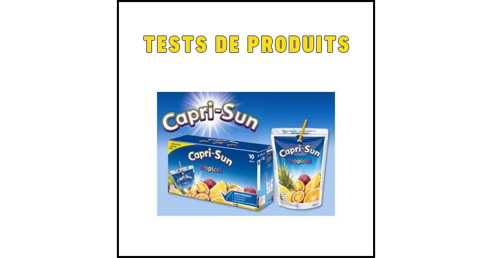 Tests de Produits : Tropical de Capri Sun - anti-crise.fr