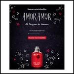 Echantillon Cacharel sur Facebook : Amor Amor - anti-crise.fr