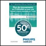 Offre de Remboursement (ODR) Philips : Jusqu'à 50 € sur Brosse à Dents Sonicare - anti-crise.fr