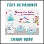 Test de Produit Conso Baby : Collection Capsule Moulin Roty Luc et Léa - anti-crise.fr