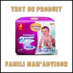 Test de Produit Famili Mam'Advisor : Couches Premium Ultra Protect Carrefour Baby - anti-crise.fr