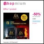 Offre de Remboursement (ODR) Shopmium : 50% remboursés sur Capsules L'OR EspressO - anti-crise.fr