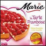 Offre de Remboursement (ODR) Marie : Tarte Framboise 100 % Remboursée - anti-crise.fr