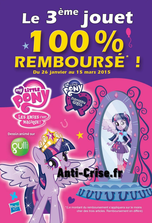 Offre de remboursement odr my little pony 3 me jouet - My little pony en dessin anime ...
