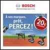 Offre de Remboursement (ODR) Bosch : 20 € sur les Outils - anti-crise.fr