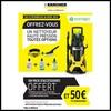 Offre de Remboursement (ODR) Kärcher : 50 € + Pack Accessoires Offert - anti-crise.fr