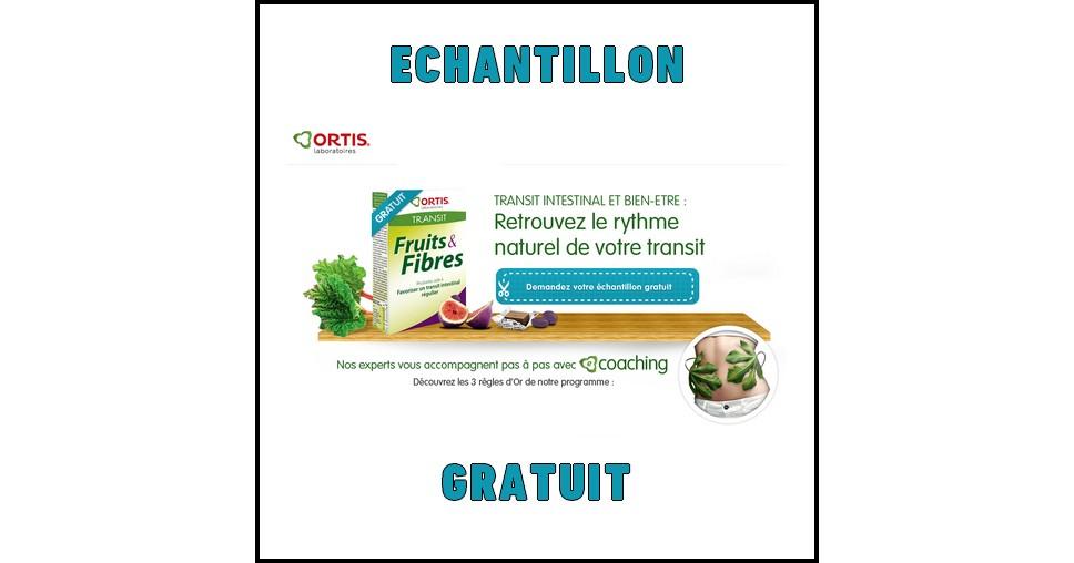 Echantillon Gratuit Ortis : Fruits & Fibres - anti-crise.fr