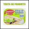 Tests de Produits : Filets de Sardines à l'huile d'olive de Saupiquet - anti-crise.fr