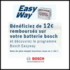 Offre de Remboursement (ODR) Bosch : 12 € sur Batterie - anti-crise.fr